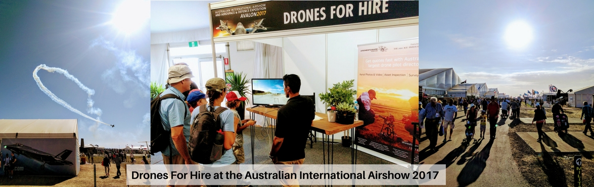 DronesForHire at Airshow 2017