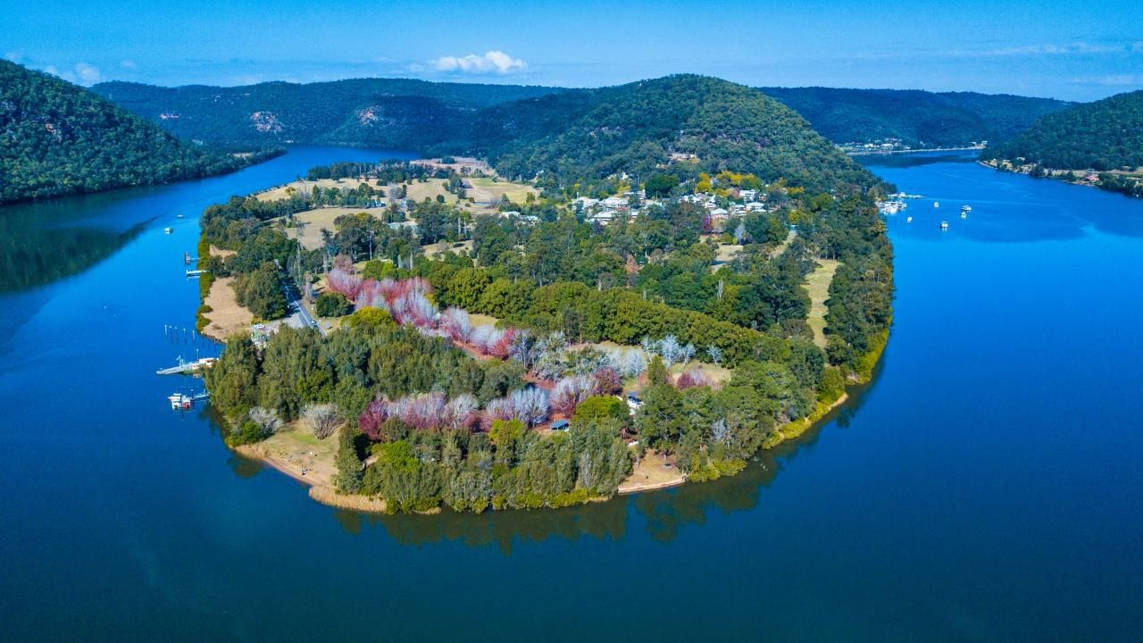 Aerial photography, drone photography by Hawkesbury River Aerial Photography